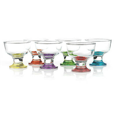 NEW Symphony Prism Dessert Bowl Set 6pce