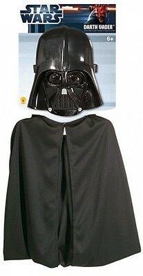 Star Wars Darth Vader Childs Cape And Mask Set, Rubies