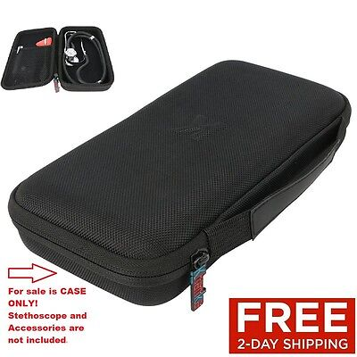 Carrying Case For Stethoscope And Accessories Storage Travel Organizer Bag Box