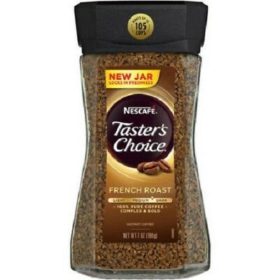 Nescafe Taster's Choice Instant Coffee French Roast