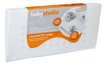 Babystudio Elevated Lift Wedge Relieves Reflux Indigestion and Nasal Congestion