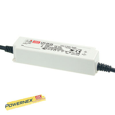 MEAN WELL [PowerNex] NEW LPF-25-36 36V 0.7A 25.2W C.C. LED Driver