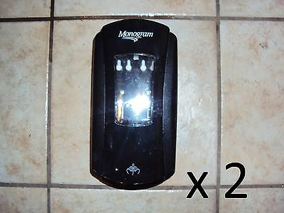 2 Monogram Automatic Soap Dispenser Wall Mount with Motion Sensor x 2 LTX-12