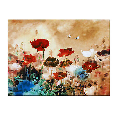 Modern Canvas Print Painting Picture Home Decor Wall Art Flower Landscape Framed