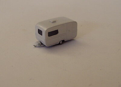 Graham Avis N Gauge N Scale C27p Touring Caravan painted & finished