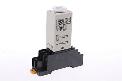 DC 24V H3Y-2 Power On Time Relay Delay Timer 1 Second & Base Socket PYF08A