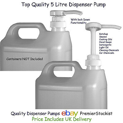 Quality Dispenser Pump for 5 Litre US Gallon Container Car Care Products Food