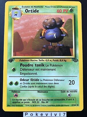 Carte Pokemon ORTIDE 37/64 Jungle Wizard Neuve Française EDITION 1