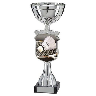 Titans Badminton Cup Trophy in 5 Sizes with Free Engraving up to 30 Letters