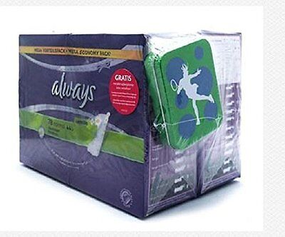 Always Normal Pantyliners Pads Chamomile With Free Tin Box 156 Pantyliners
