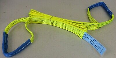 4x4 Towing Recovery Hi Vis Strap 5 Ton 1m - 30M - Off Road Tree Strop WARN