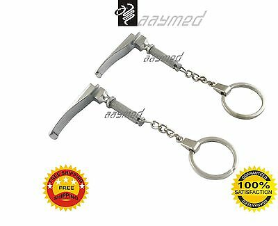 Laryngoscope 2 Pcs. Key Chain KEYCHAIN promotion great gift EMS Free Ship