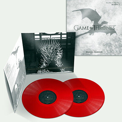 GAME OF THRONES SEASON 3 - Music From the HBO Series - RED Vinyl 2LP 2nd Press