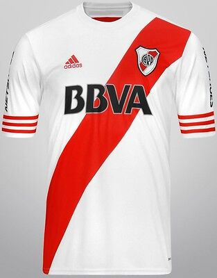 RIVER PLATE Jersey 2015/16 Home *CLIMACOOL* Original ADIDAS New