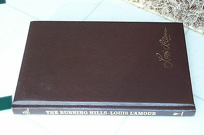 Louis L'amour Leatherette Book The Burning Hills