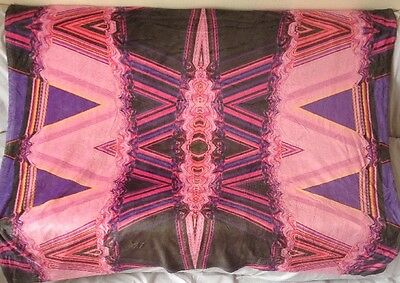 "Kess InHouse ""pink/black"" Dog Blanket, 60 by 50-Inch."