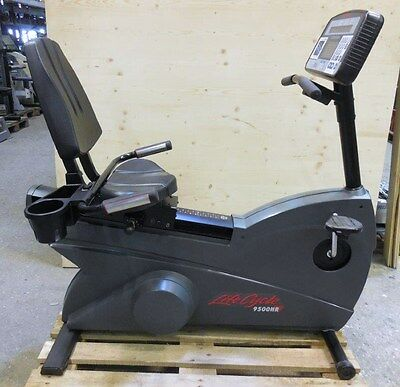 Profi Liegeergometer - Lifecycle 9500HR Next Generation Recumbent Bike