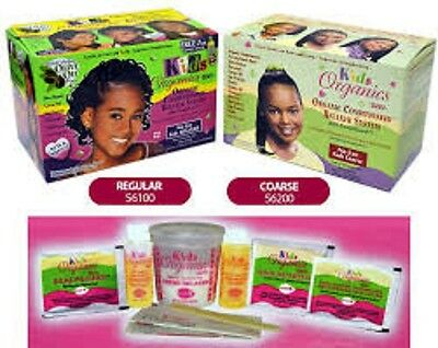 Organic Kids Olive Oil Relaxer Kit By Africa Best