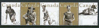 Weeda Canada 1612ai VF mint NH Unfolded strip of 5, from Annual Collection CV $9