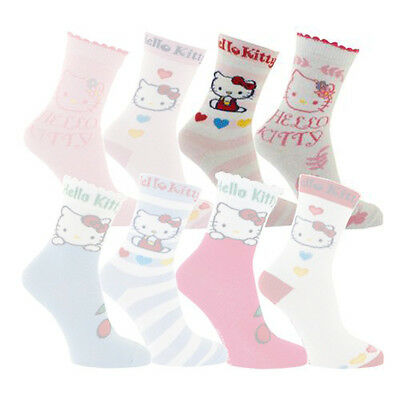 2 Paires de chaussettes Hello Kitty taille 31-34
