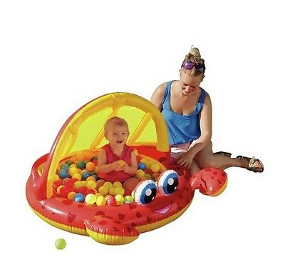 New Chad Valley Crab Baby Pool And Ball Pit Indoor And Outdoor Play Great Fun