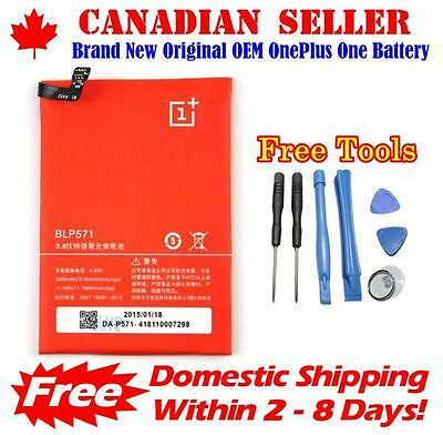Original OEM OnePlus One 1+1 Replacement Battery BLP571 3100mAh + 7Pcs Tools Set