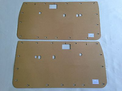 Toyota HILUX 1988-1997 Ute 2 Front DOOR CARDS. Quality Masonite Trim Panels.