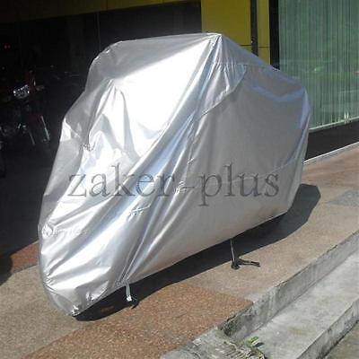 L Silver Sunproof Motorcycle Bike Covers For BMW K R 75 100 1100 1200 1300 1600