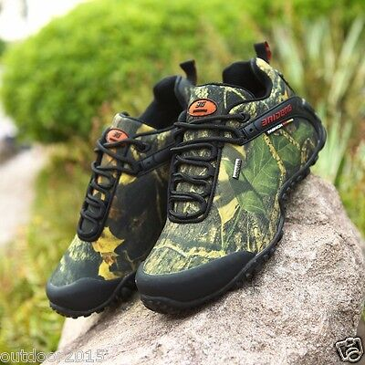 Fashion Outdoor Climbing Hiking Shoes Men's Camouflage Tactical Hunting Boots