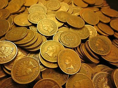 Rare Full Date Indian Head Penny Lot PLUS FREE COIN GIFT