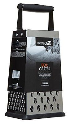 Kitchen Craft 24.5 cm Master Class Four Sided Box Grater