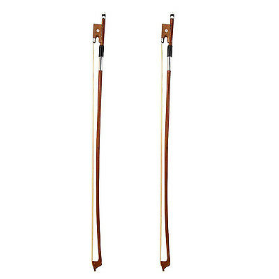 Full Size 4/4 Arbor Violin Bow Fiddle Bow Horsehair Exquisite for Violin SYH