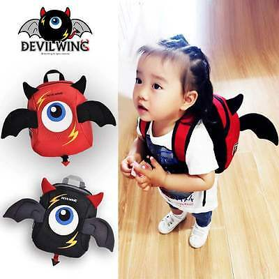Baby Kids Toddler Anti-lost Safety Harness Backpack Lunch Straps Bag 2 colors