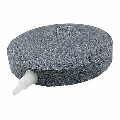 sourcingmap 100mm x 18mm Aquarium Fish Tank Bubbles Releases Round Gray Air Ston • EUR 10,09