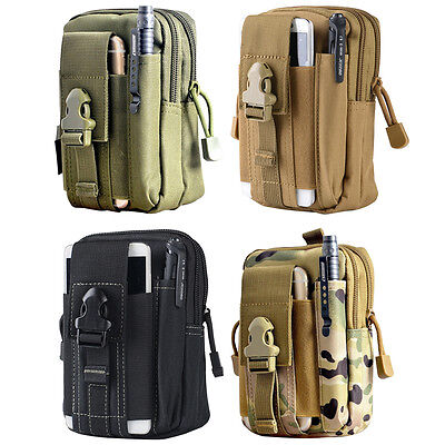 Tactical Molle Bags Men's Outdoor Sport Waist Pack Purse Case for Phone  SYH