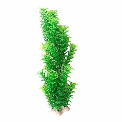 Sourcingmap Plastic Fish Tank Aquarium Cabomba Plants Decoration, Green