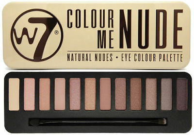 W7 Color Me Nude Natural Nudes Eye Colour Palette # BRAND NEW