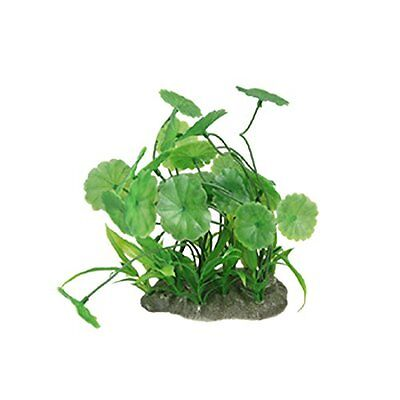 Sourcingmap Plastic Fish Tank Emulational Decoration Water Grass, Green