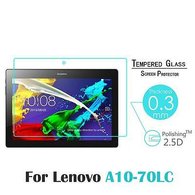 """New 9H Tempered Glass Screen Protector Film For Lenovo Tab 2 A10-70LC 10.1"""""""