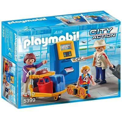 PLAYMOBIL 5399 - Familie am Check-in Automat