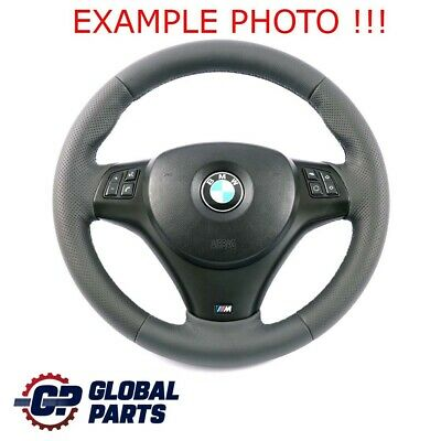 BMW 1 3 E81 E82 E87 E90 E91 E92 E93 NEW Leather M-Sport Thick Steering Wheel