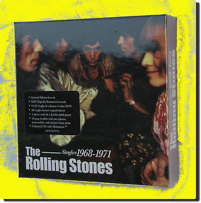 The Rolling Stones - Singles 1968-1971( Box 9CDs+DVD )