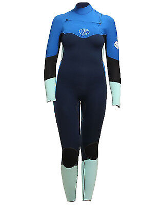 Rip Curl Flashbomb Ladies 5/4mm Wetsuit (2017) in Navy