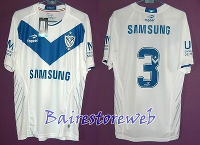 VELEZ SARFIELD jersey PLAYER ISSUE Champion 2012/13 #3 PAPA Topper New