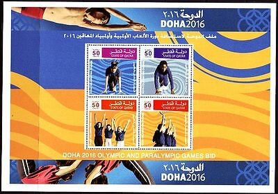 Qatar 2007 ** Bl.53 Olympische Spiele Olympic Games