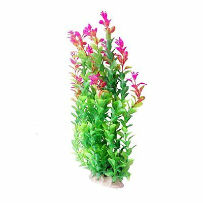 Sourcingmap Plastic Aquarium Float Grass Decor, 16.9-inch, Green  Fuchsia