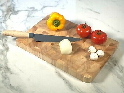 Large Black Granite Chopping Board Speckled Stone Worktop Saver Kitchen Top