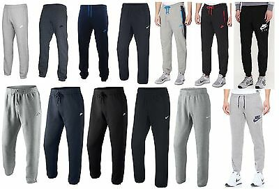 Mens NIKE Fleece Joggers Tracksuit Jogging Bottoms Sweat Pants Track S M L XL