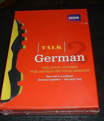 Talk German 2 Improve Your German Book/ Cd  Audio Course Brand New Sealed