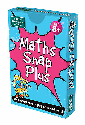 Maths Snap Plus Pairs + Snap Card Game BrainBox | Maths Learning Resource